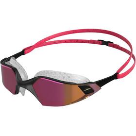 speedo Aquapulse Pro Mirror Occhialini da nuoto, rosa/nero